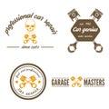 Set of logo, badge, emblem and logotype element