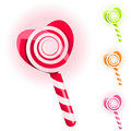 Set of lollypops Royalty Free Stock Image