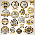 Set luxury badges stickers sale Stock Images