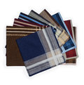 Set of many handkerchiefs Stock Image