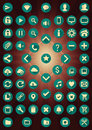 Set of 62 Material Web Interface Icons