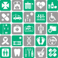 Set of medical icons Royalty Free Stock Photo