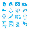 Set of medical items Royalty Free Stock Photo