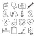 Set of Medical Line Icon