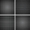 A set of metal grille Stock Photo