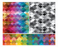 Set of modern colorful absrtact textures Royalty Free Stock Photography