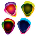 Set of multicolor picks. Royalty Free Stock Photo