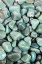 Set of natural mineral gemstones Royalty Free Stock Photo