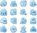 Set of network icons. Stock Image