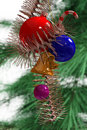 Set of new year decoration Stock Photography