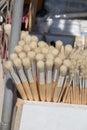 Set of painting brush