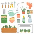 Set of plant care tool