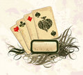Set of playing cards Royalty Free Stock Photo