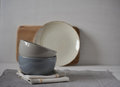 Set of Porcelain Dishes. Kitchen Utensil Royalty Free Stock Photo