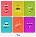 Set of Positive Quotes