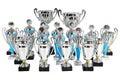 Set Premium Silver Cups On Mar...