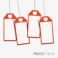 Set of Price And Sales Labels Stock Images
