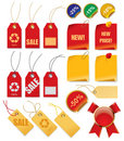 Set of price tags Royalty Free Stock Photography