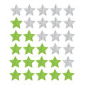 Set rating star a for your website Stock Photos