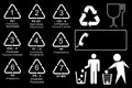 Set of Recycling Codes