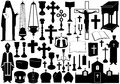 Set Of Religious Elements Stock Photo