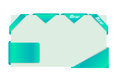Set of ribbons vector illustration this is file of eps format Royalty Free Stock Image