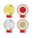 Set of Rosettes Royalty Free Stock Image