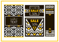 Set of sale abstract banner template design. Geometric background. For cover book, brochure, flayer, poster, magazine