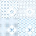 Set of seamless background pattern can be used for wallpaper website textile printing Royalty Free Stock Photography