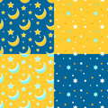 Set Of Seamless Backgrounds Wi...