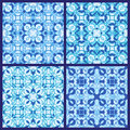 Set of seamless patterns Royalty Free Stock Photography
