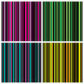 Set of Seamless stripes background pattern Stock Photo