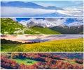 Set Of The 4 Seasons Landscape