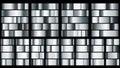 Set of silver metal gradients