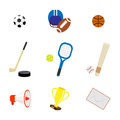 Set of sport icons vector illustration Stock Images