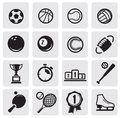 Set sports Royalty Free Stock Photos