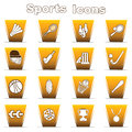 Set of sports icons Royalty Free Stock Images