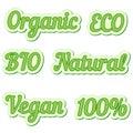 Set  Sticker, Eco Friendly And...