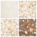Set of Stone backgrounds Royalty Free Stock Image