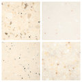Set of stone backgrounds from four high definition Stock Images