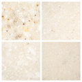 Set of stone backgrounds from four high definition Stock Photography
