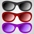 Set sunglass Stock Photos