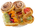 Set of sweet pastry Royalty Free Stock Images