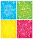 Set of swirl vector backgrounds  Stock Photos