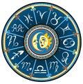 Set of Symbol Zodiac Sign Royalty Free Stock Photo