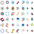 Set of symbols Stock Photo