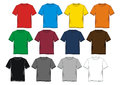 Set T-shirt men colorful