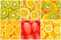 Set of tasty healthy fruits Royalty Free Stock Photo