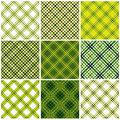 Set of textile seamless patterns. Royalty Free Stock Photos