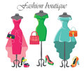 Set Of  Three Coctail Dresses ...